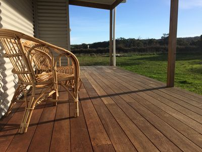 Bask on the verandah