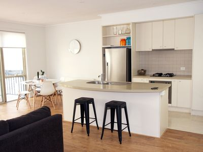 Living Area - Kitchen and Dining