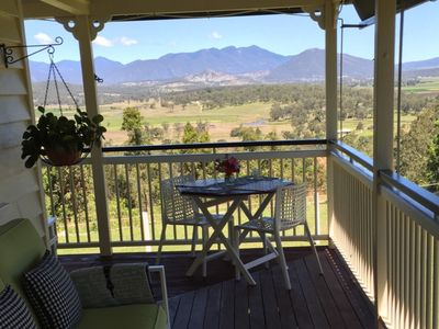Cottage side verandah view